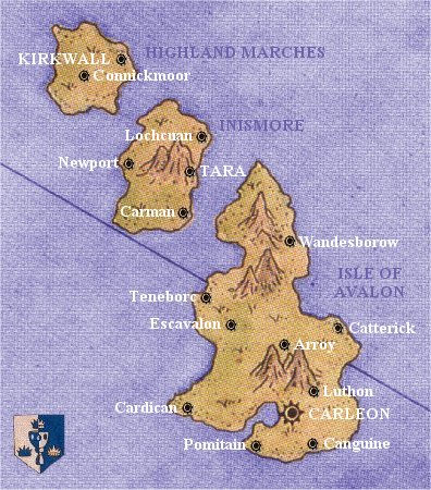 Political Map of Avalon